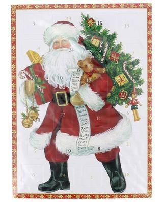 Santa Claus advent calendar CASPARI