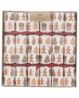 Set of 6 Christmas crackers MYEXPATSHOP
