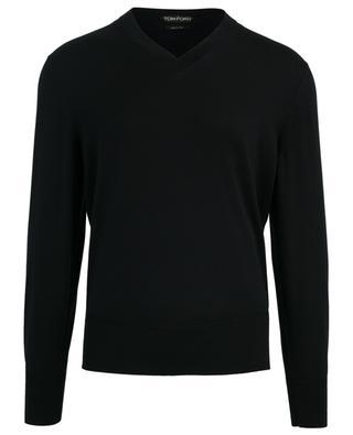 V-Kragen-Pullover aus Baumwolle TOM FORD