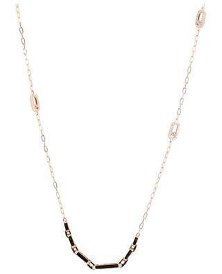 Lange Halskette aus Roségold Move Uno MESSIKA
