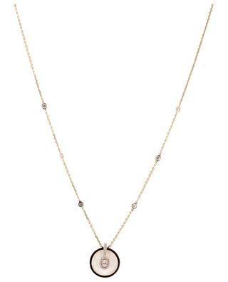 Collier en or rose Glam'Azone Graphic MESSIKA