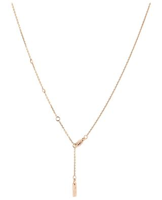 Glam'Azone Graphic pink gold necklace MESSIKA