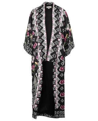 London Flux printed jacquard kimono TEMPERLEY LONDON
