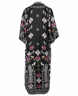Bedruckter Jacquard-Kimono London Flux TEMPERLEY LONDON