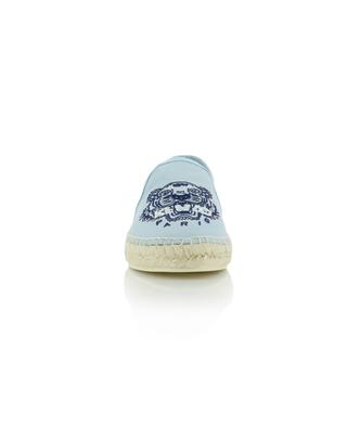 Elastic Tiger embroidered fabric espadrilles KENZO