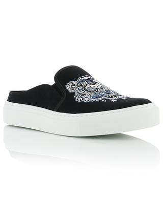 K-Skate embroidered canvas mules KENZO