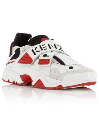 Materialmix-Sneakers mit Logo-Klett New Sonic KENZO