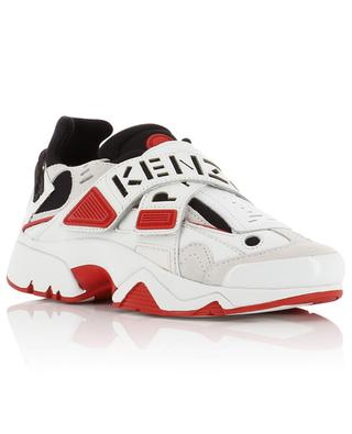 Materialmix-Sneakers mit Logo-Klett New Sonic KENZO