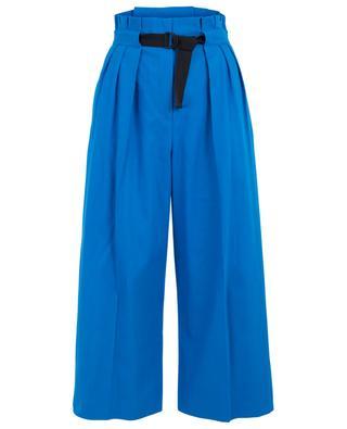 Weite Hose aus Baumwolle mit Gürtel KENZO