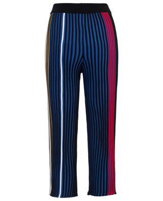 Vertical Ribs wide leg knit trousers KENZO