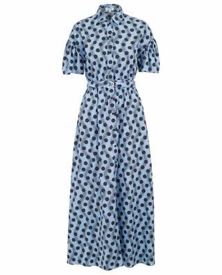 Wave Polka long shirt dress KENZO