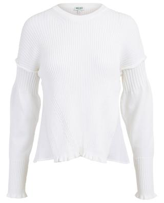 Cotton blend knit jumper KENZO