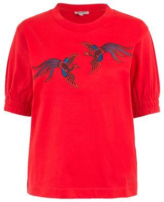Phoenix embroidered cotton top KENZO