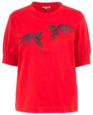 Phoenix embroidered cotton top KENZO
