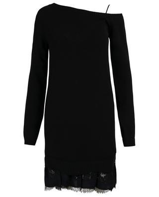 Set aus Lingeriekleid und Pullover N°21