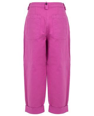 Verkürzte Baggy-Jeans mit Umschlägen N°21