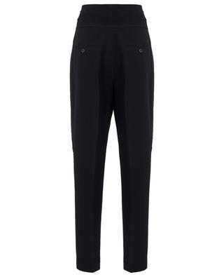 Viscose blend tapered leg trousers N°21