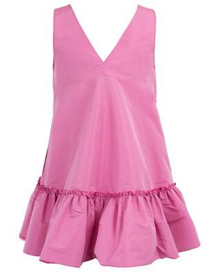 Ruffled sleeveless dress N°21