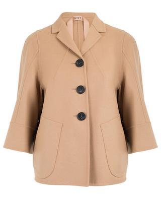 Jacke aus Woll- und Kaschmirmix N°21