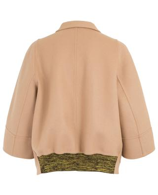 Wool and cashmere blend jacket N°21