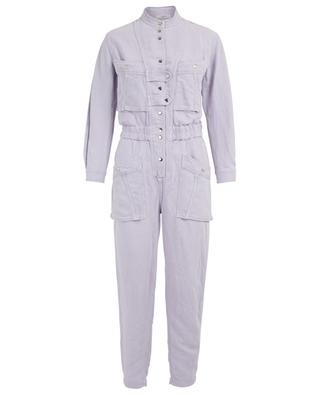 Lashay lyocell and linen jumpsuit ISABEL MARANT