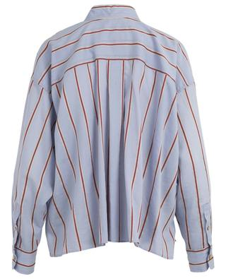 Ycao cotton, linen and silk striped shirt ISABEL MARANT