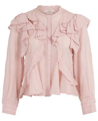 Alea ruffled blouse with embroideries ISABEL MARANT
