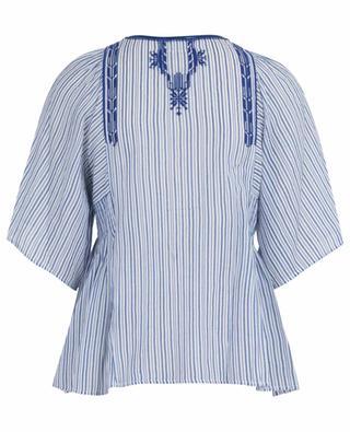 Striped flared embroidered blouse Joya ISABEL MARANT