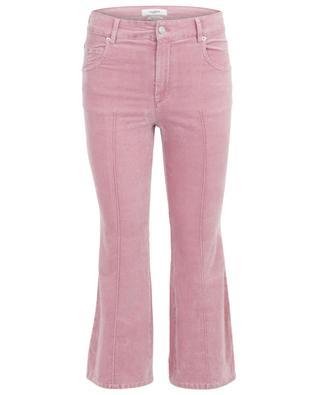 Pantalon droit en velours Anyree ISABEL MARANT