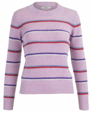 Gian striped alpaca and cotton jumper ISABEL MARANT