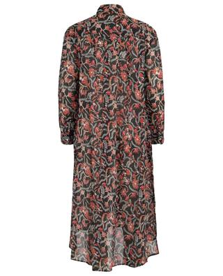 Eliane floral cotton veil shirt dress ISABEL MARANT