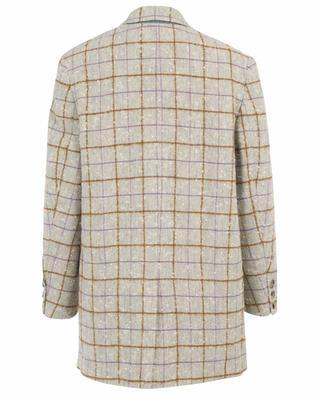 Orix long wool check blazer ISABEL MARANT