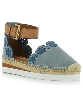 Glyn openwork stitching adorned espadrilles SEE BY CHLOE