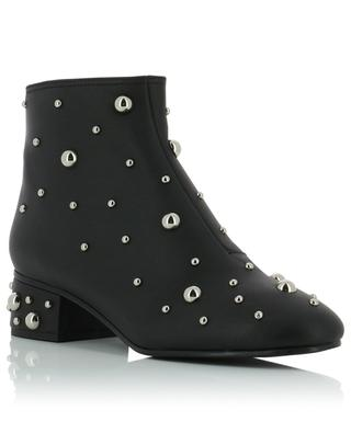 Abby studded leather ankle boots SEE BY CHLOE