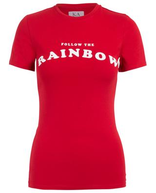 T-shirt en coton Follow The Rainbow ZOE KARSSEN