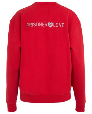 Sweat-shirt en coton mélangé Prisoner of Love ZOE KARSSEN