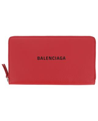 Grand portefeuille zippé imprimé logo Everyday BALENCIAGA