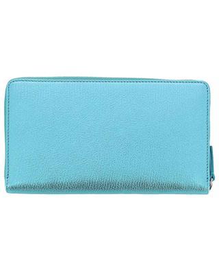 Brieftasche aus Metallic-Leder Everyday Continental BALENCIAGA