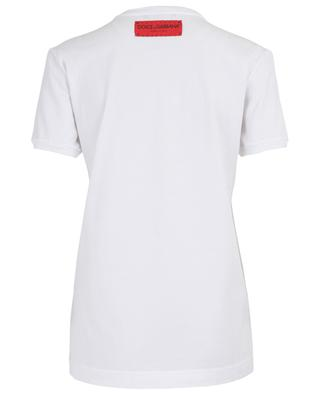 D&G is you! embroidered slogan T-shirt DOLCE & GABBANA