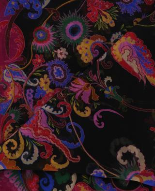 Foulard en soie imprimée ETRO