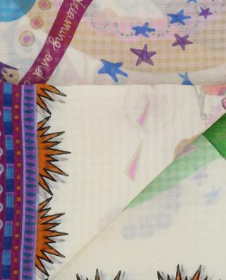 Printed silk shawl ETRO