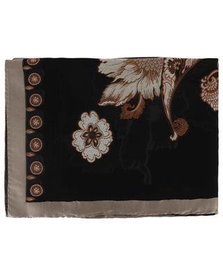 Silk blend shawl ETRO