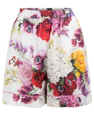 Fliessende Shorts im Pyjama-Look Flowers Mix DOLCE & GABBANA