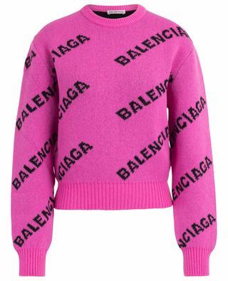 Pull en laine vierge BALENCIAGA