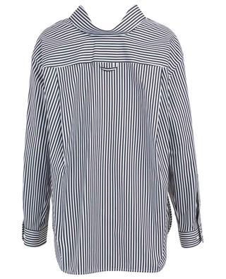 Swing Collar striped oversize shirt BALENCIAGA