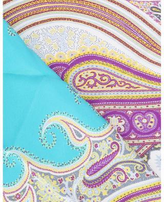 Halstuch aus Seide mit Paisley-Print ETRO