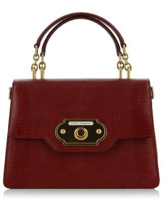 Welcome lizard-effect leather handbag DOLCE & GABBANA