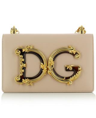 Umhängetasche aus Leder mit Kettengurt DG Girls DOLCE & GABBANA