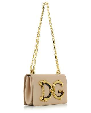 DG Girls leather cross-body bag with chain DOLCE & GABBANA