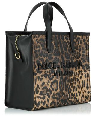 Leopard printed leather handbag DOLCE & GABBANA